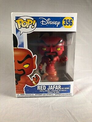 "DISNEY ALADDIN RED JAFAR AS GENIE 3.75/"" POP VINYL FIGURE FUNKO NEW 356"