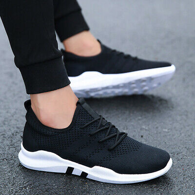 Athletic Sneakers Men's Casual knit Shoes Jogging Outdoor Running Sports size