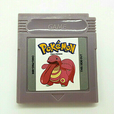 Pokemon Cock Version Cartridge Card for Game Boy Color Advance GBC GBA SP US
