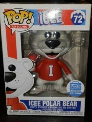 Funko Pop Ad Icons Icee Polar Bear #72 Funko Shop Exclusive PRESALE