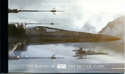 2015 Star Wars Great Britain Prestige Stamp Booklet Dy15 Freepost Uk