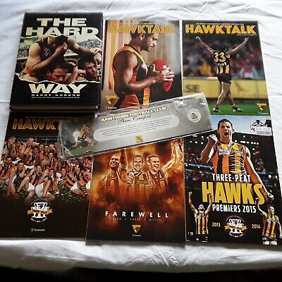 6 Hawthorn Football Club Book & Magazines