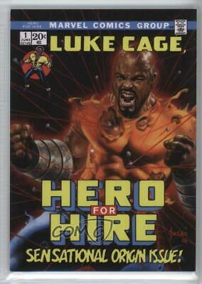 2016 Upper Deck Marvel Masterpieces Level 1 What If 1007/1499 Luke Cage #26 5x5