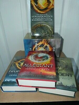 Divergent Series Boxed Set (books 1-3) by Veronica Roth New Hardback - US copies