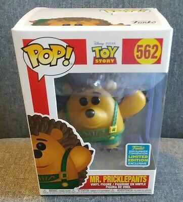 Funko Pop SDCC 2019 Toy Story Mr. Pricklepants shared exclusive