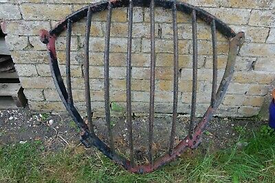 Victorian Cast Iron Heavy Duty Manger, Old Antique Hay Rack - Good condition
