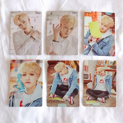 Stray Kids UNVEIL TOUR I am in japan mini photocard set Bangchan 6 complete set