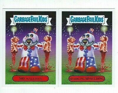2019 Garbage Pail Kids Revenge of Oh, Horror-ible set 200 complete set 100 a/b