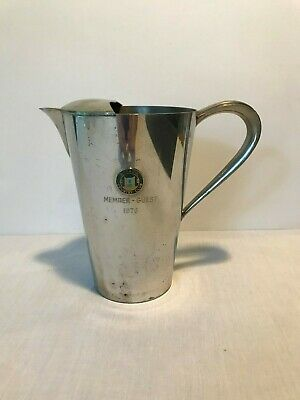 Vintage Pewter Pitcher Wykagyl Country Club 1976