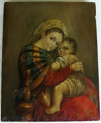 "Antique Russian icon of ""Three Joys"". 19th century. Reasonable bargaining!"