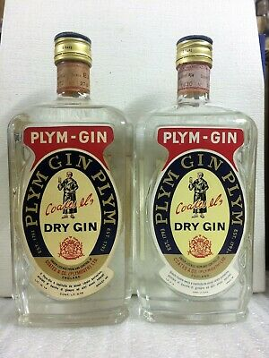 1 Bt. London Dry Gin Plym-Gin (Coate & Co.) - 750ml 40% - INTROVABILE !!!