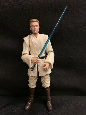 6 Inch Obi-Wan Kenobi Padawan Jedi Figure Star Wars Black Series TBS New & LOOSE