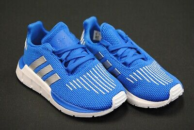Adidas Originals Toddler/'s Swift Run Shoes NEW AUTHENTIC Blue//Black//White CG6953