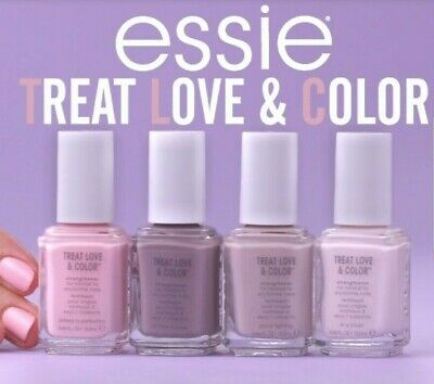 Essie Treat Love & Color Nail Polish, NIB, BUY MORE & SAVE UP TO 15% OFF