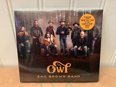 Zac Brown Band - The Owl Cd (2019)   Brand New!  Unopened!