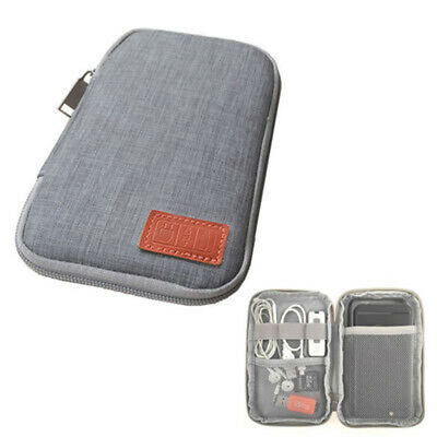 Electronic Accessories Storage Bag Cable Organizer Case Travel Inserted Bag