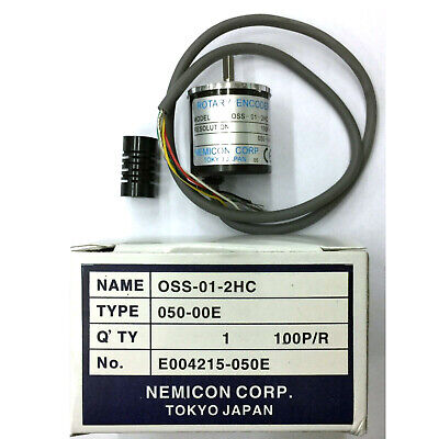 H● NEMICON OSS-006-2HC Encoder 60P/R New