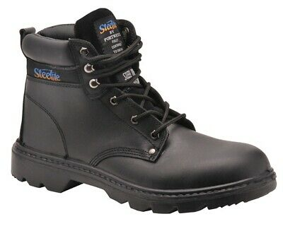 982 Black Thor Safety Boots Uk10 FW11BKR44 Portwest Genuine Top Quality Product