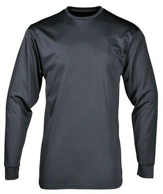 296 Grey Baselayer Thermal Top Sml B133CHAS Portwest Genuine Quality Product New