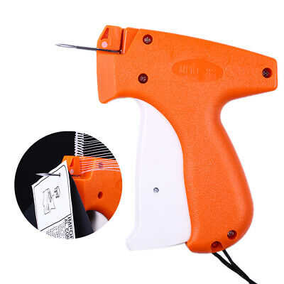Tagging Gun System 5 Steel Needles 1000 Barbs Kimble Tag Label for Clothes Sock#