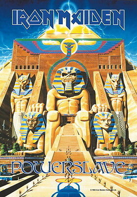 """Iron Maiden Flagge / Fahne """"Powerslave"""" Poster Flag Posterflagge"""