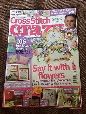 Cross Stitch Crazy magazine issue 174 - includes Margaret Sherry  RRP £4.99