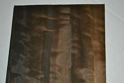 Fumed Eucalyptus Raw Wood Veneer  5.5 x 40 inches                       G7367-13