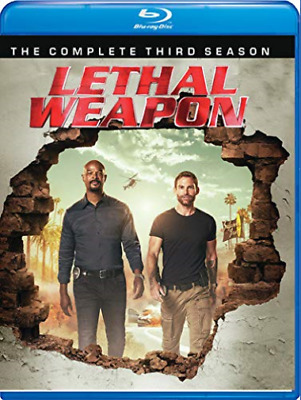 LETHAL WEAPON: COMPLETE THI...-LETHAL WEAPON: COMPLETE THIRD SEASON  Blu-Ray NEW
