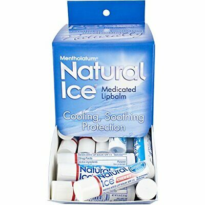 Natural Ice Cherry, 0.16 ounce Tubes (Pack of 48)