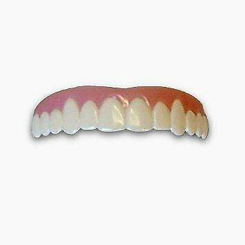 Imako Cosmetic Upper Teeth 1 Pack (Small, Natural)