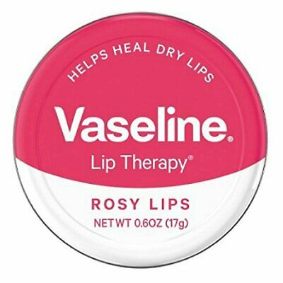 Vaseline Lip Therapy Lip Balm, Rosy Lips 0.6 oz (Pack of 2)