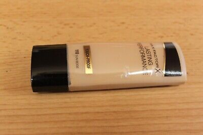 Max Factor Lasting Performance Foundation - 35ml - 110 Sun Beige - New