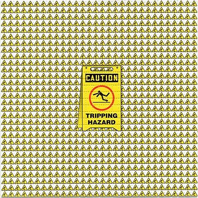 TRIPPING HAZARD BLOTTER ART perforated sheet paper psychedelic art
