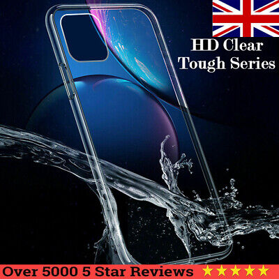 Luxury CLEAR Case For iPhone X XR XsMax Cover Shockproof Silicone Gel Ultra Slim