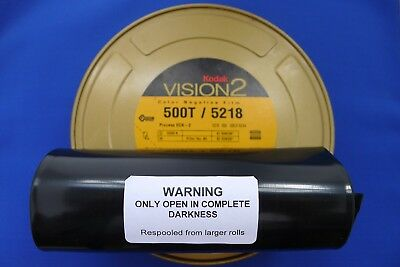 KODAK MOTION PICTURE 35MM x 100ft (30m) BULK FILM VISION 2 COLOUR NEG 5218 500T