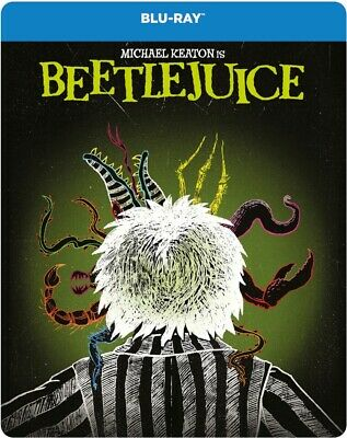 BeetleJuice Steelbook Blu-ray New With Free Delivery!