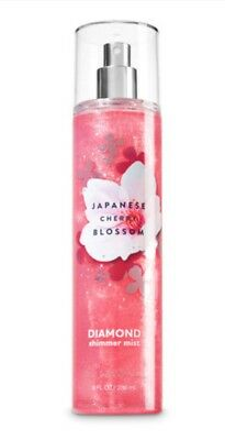 Bath And Body Works Japanese Cherry Blossom Diamond Shimmer Mist 236ml