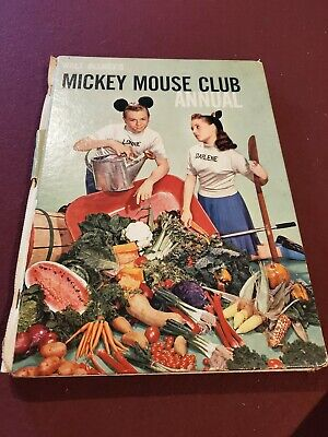 Walt Disney's Mickey Mouse Club Annual hardcover book