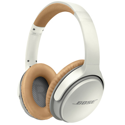 Bose SoundLink Around-Ear Wireless Headphones II (White). Authorized Dealer!