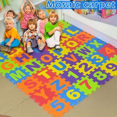 For Kids Baby Boys Girls Foam Floor Puzzle Play Mat Pad Crawling Carpet Decor US