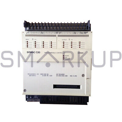 Used & Tested OMRON CPU C20-CPU74E Programmable Controller Unit