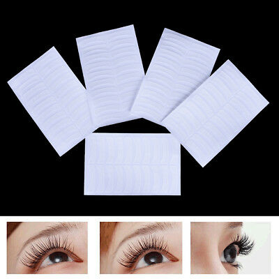 100 X Eyelash Extension Fabrics Pads Stickers Patches Adhesive Tape Tool~GN