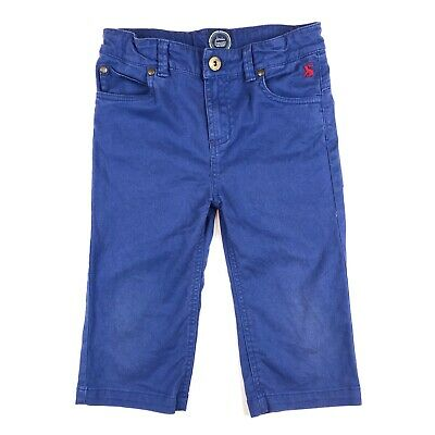 Joules Boys Blue Trousers - Size 7 Years