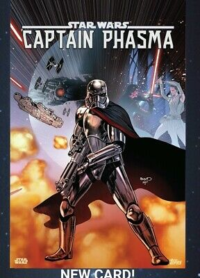 Topps Star Wars Card Trader Marathons 2019 S3 Comic Covers Captain Phasma Digita