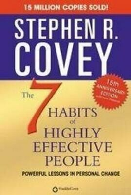 7 Habits Of Highly Effective People by Stephen R. Covey 9781416502494