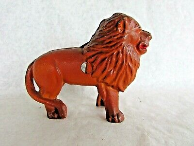 Small Cast Iron Bank - Lion - Reproduction of 1920s Bank - 1970s