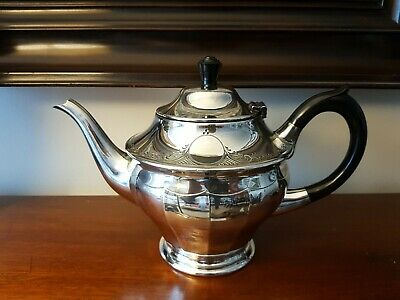 Antique Silver Plated EPBM Teapot