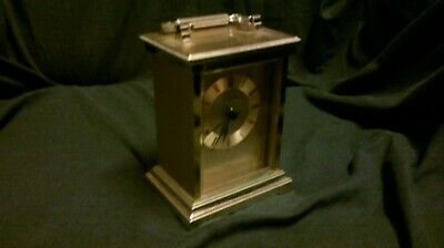 Carriage Clock Mantle Clock Gold Carriage Clock Gift Idea