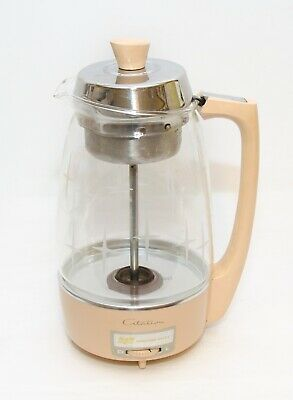 Vintage PROCTOR SILEX Citation Electric Percolator Coffee Maker Starburst