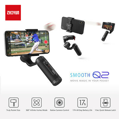 Zhiyun SMOOTH Q2 3-Axis Smartphone Gimbal Stabilizer For iPhone 7 Youtube Vlog